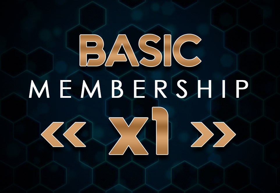 EDGE Basic Monthly Membership (1 Member)