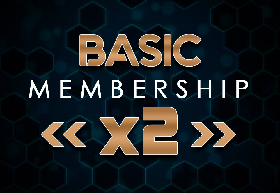 EDGE Basic Monthly Membership (2 Members)