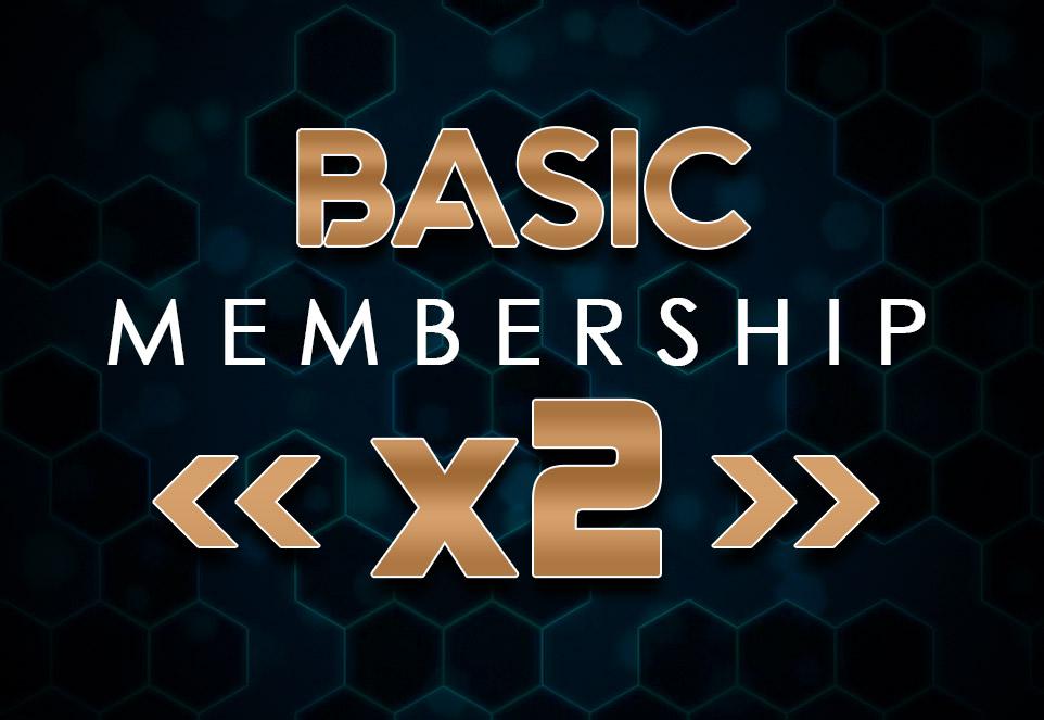 EDGE Basic Monthly Membership (2 Members)