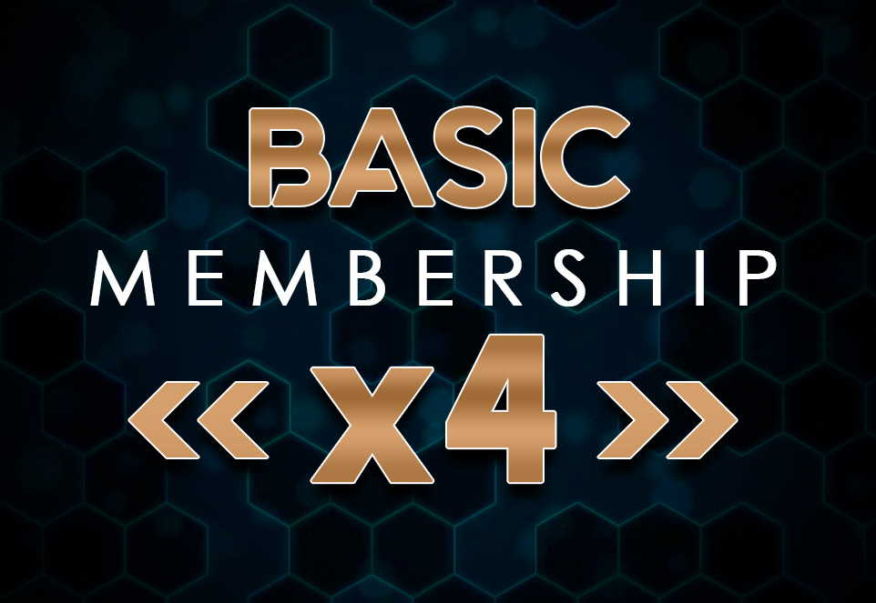 EDGE Basic Monthly Membership (4 Members)