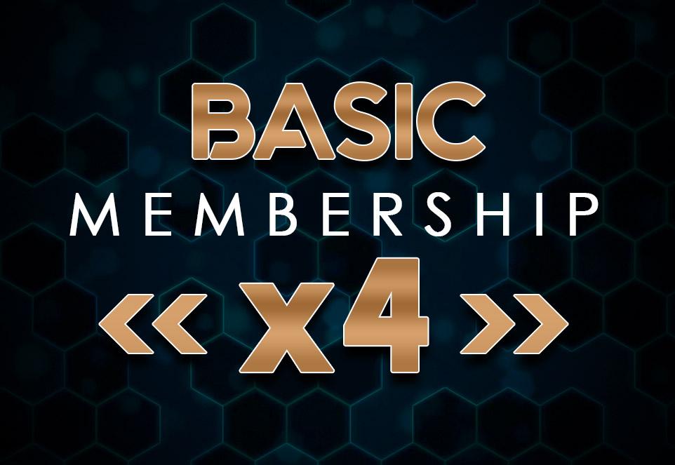 EDGE Basic Monthly Membership (4 Members)