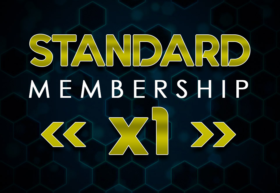 EDGE Standard Monthly Membership (1 Member)