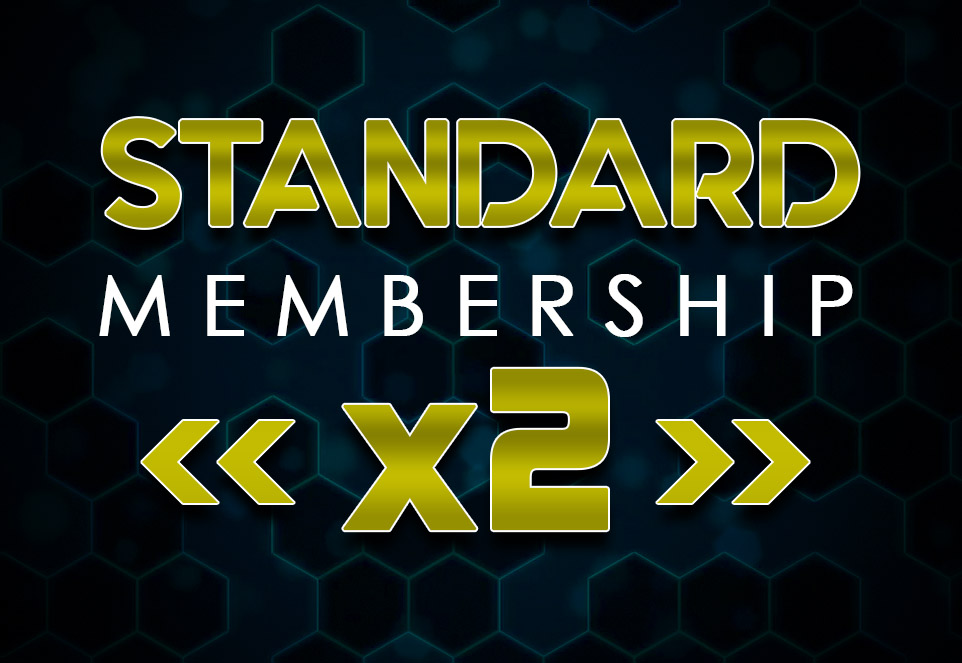 EDGE Standard Monthly Membership (2 Members)