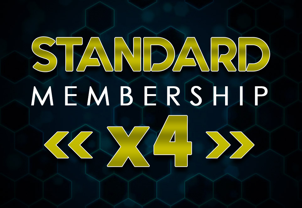 EDGE Standard Monthly Membership (4 Members)